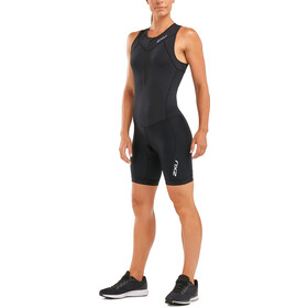 2XU Active Trisuit Dames, black/black